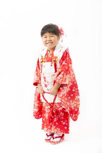 着物姿の女の子の写真素材 [FYI00115280]