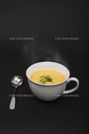 コーンポタージュスープの写真素材 [FYI00115281]