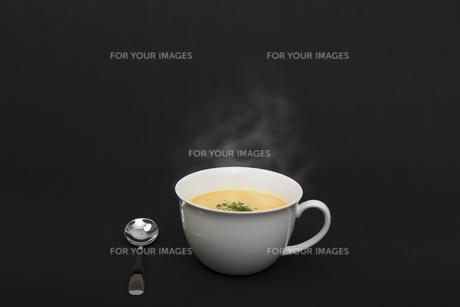 コーンポタージュスープの写真素材 [FYI00115311]