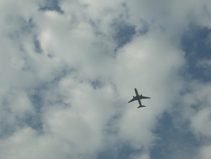 Airplane Cloudsの写真素材 [FYI00115404]