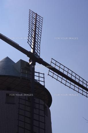 風車の写真素材 [FYI00115619]