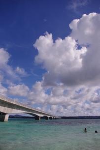 古宇利大橋の写真素材 [FYI00115621]