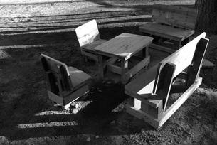 机と椅子の写真素材 [FYI00115725]