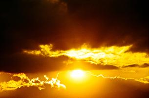 夕日の写真素材 [FYI00115787]