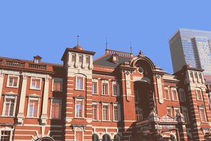 東京駅の写真素材 [FYI00116265]