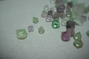 蛍石(フローライト)の結晶の写真素材 [FYI00116304]