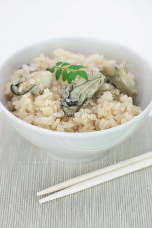 牡蛎飯の写真素材 [FYI00116571]