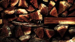 薪の写真素材 [FYI00116592]