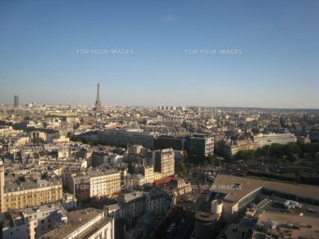 パリ市街の写真素材 [FYI00116689]