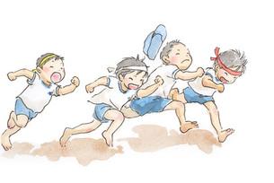 保育園の運動会の素材 [FYI00116724]