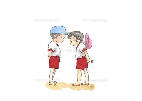 運動服の園児の写真素材 [FYI00116733]