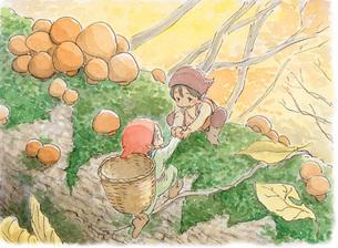 秋の小人の素材 [FYI00116762]
