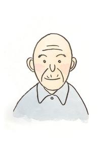 笑顔のお爺さんの素材 [FYI00116797]