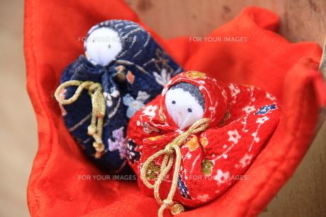小さな雛人形の写真素材 [FYI00116834]