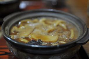 味噌煮込みうどんの写真素材 [FYI00116851]