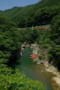 諏訪峡の写真素材 [FYI00117021]