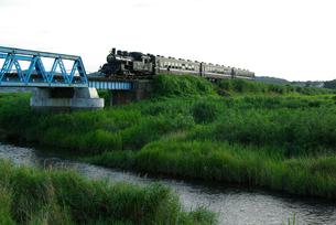 SL夜行列車の写真素材 [FYI00117041]