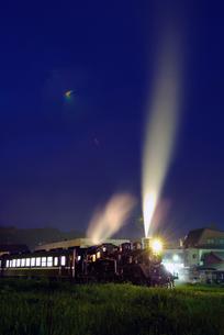 SL夜行列車の素材 [FYI00117046]
