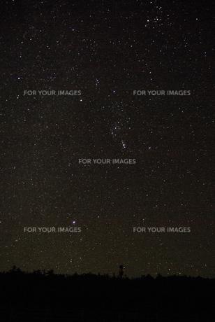 星空の写真素材 [FYI00117242]
