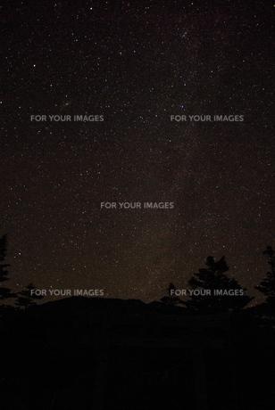 天の川の写真素材 [FYI00117249]