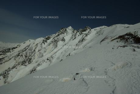 雪山の素材 [FYI00117455]