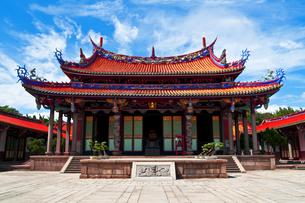 孔子廟の大成殿の写真素材 [FYI00117627]