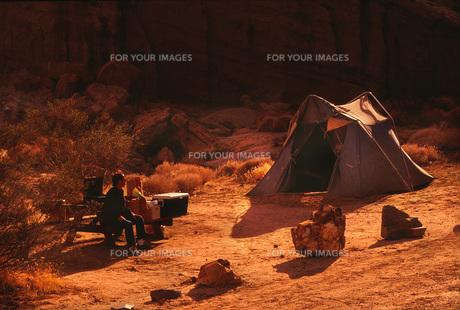 キャンプの写真素材 [FYI00117853]