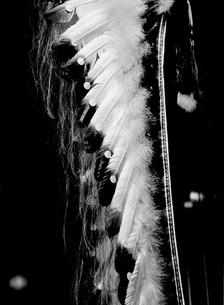 ジェロニモの羽飾り、インデァンの写真素材 [FYI00117855]