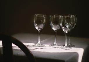 レストラン_ワイングラスの写真素材 [FYI00118032]