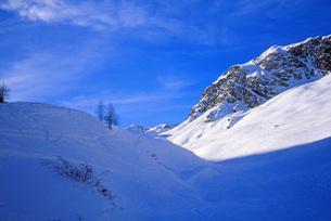 雪山の景色の写真素材 [FYI00118139]