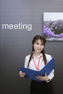 オフィスで働くビジネスウーマンの写真素材 [FYI00118216]