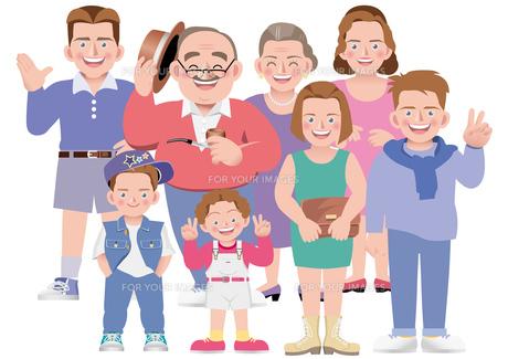 海外 仲良し家族1の写真素材 [FYI00118951]