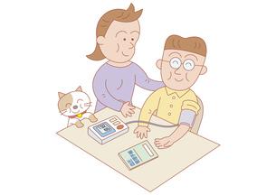 血圧測定の写真素材 [FYI00119058]