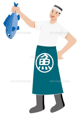 魚屋さんの写真素材 [FYI00119203]