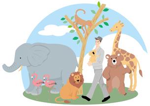 動物園の素材 [FYI00119213]