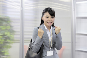 やる気あふれる若いビジネスウーマンの素材 [FYI00119227]