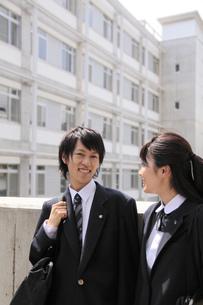 通学途中の高校生の写真素材 [FYI00119383]