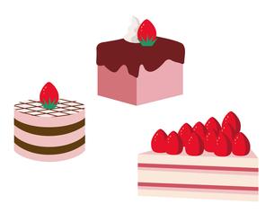 イチゴケーキの写真素材 [FYI00119790]