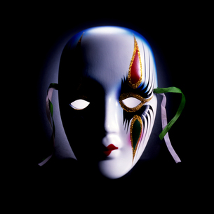 イタリア・ベネチアのマスクの写真素材 [FYI00119812]