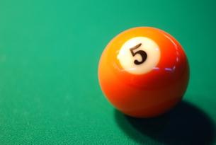 ビリヤードの球の写真素材 [FYI00119838]