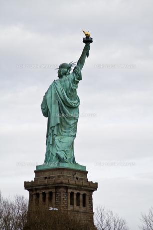 自由の女神の写真素材 [FYI00119885]