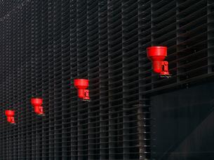 赤と黒の写真素材 [FYI00119934]