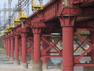 鉄橋の写真素材 [FYI00119941]