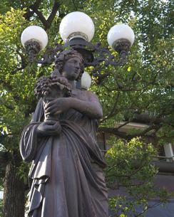 銅像の写真素材 [FYI00119945]
