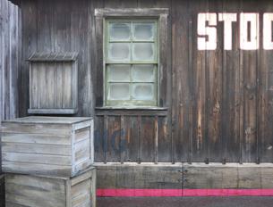木造倉庫の写真素材 [FYI00119946]