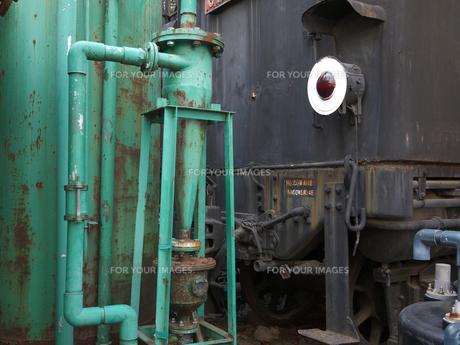 タンクと機関車の写真素材 [FYI00119948]