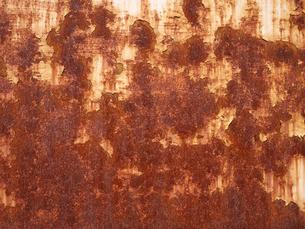 赤い錆の写真素材 [FYI00119958]