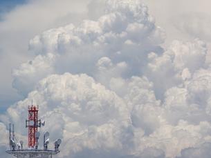 積乱雲の写真素材 [FYI00119970]