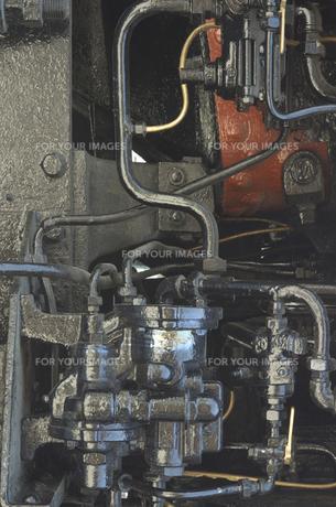 機関車の一部の写真素材 [FYI00119971]