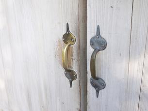 真鍮取っ手の写真素材 [FYI00119984]